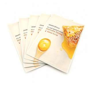 Innisfree It's real squeeze mask - Manuka Honey 10 sheets