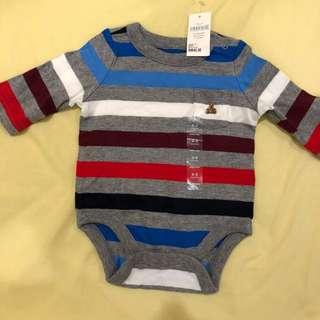 Baby Gap Romper - Free 2 pcs of Mamy poko diaper size S