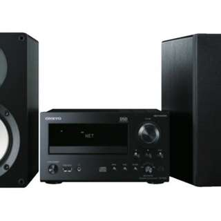 (Installment Plan) Onkyo CS-N765 Micro HiFi - Black
