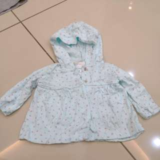 Baby hooded top (0-6m)