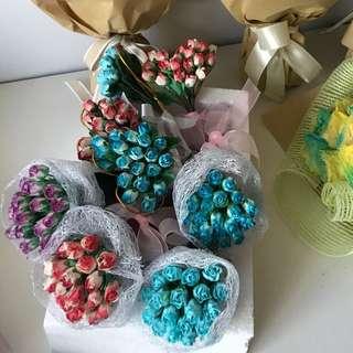 Mini roses bouquet