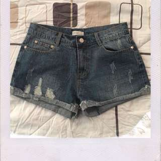 Denim short✨