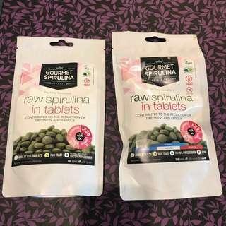 Gourmet spirulina tasty&healthy 螺旋澡丸一包$130