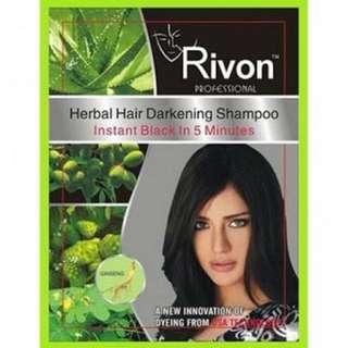 Rivon Herbal Hair Darkening Shampoo