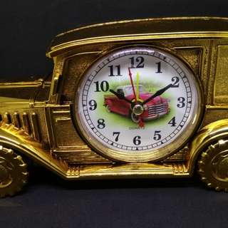 Vintage Car Alarm Clock