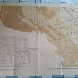 Vintage Inco Chine ( Vietnam ) Map - Very BIG Size - in149
