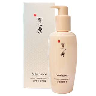 *Promotion Price!!* Sulwhasoo Gentle Cleansing Foam (200ml)