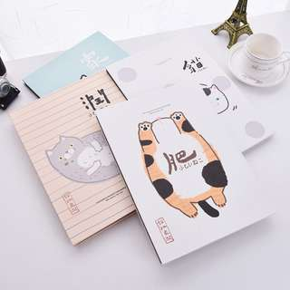 Chubby Cat DIY Photo Album A4