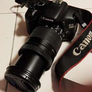Canon 550D + efs lens 18-135mm