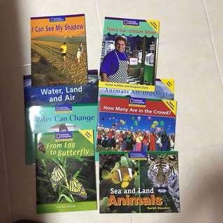 K2 English Literacy Books