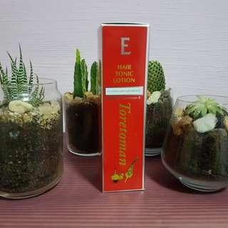 E Hair Tonic Lotion Toretoman