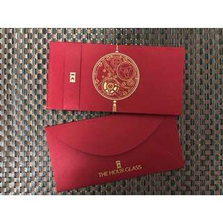 The Hour Glass red packets / Ang Bao