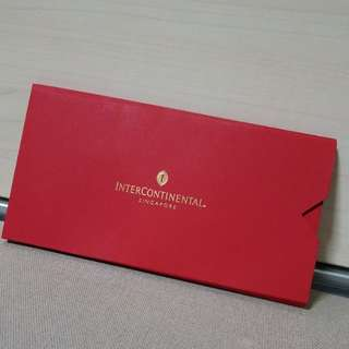 Red Packets Intercontinental Hotel 2018