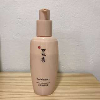 Sulwahsoo gentle cleansing foam