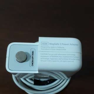 45w magsafe 2 power adapter- charger