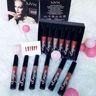 NYX Lingerie Lipcream Set Box Isi 6pcs