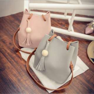 KOREAN BUCKET SHOULDER BAG