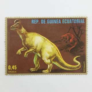 Collectible stamp - Reptile