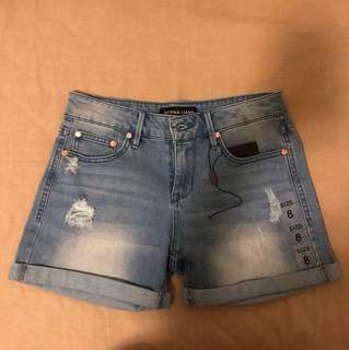 Bettina Liano Denim Shorts