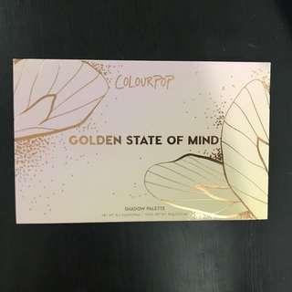 (Genuine) Colourpop golden state of mind palette