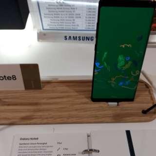 Promo Cicilan 0% Samsung Note8 Tenor 6 Bulan