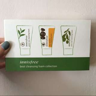 Innisfree Cleanser / Mask Travel Pack