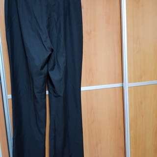 New 6 different sizes Black long pants