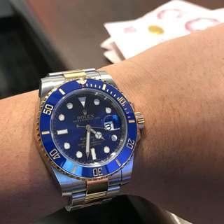 Buying Rolex Submariner 116613LB
