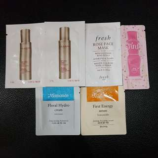 Clarins Mamonde Fresh Etude House Sample