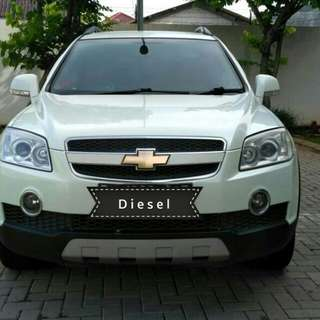 CHEVROLET Captiva SS 2.0 at diesel 2011 putih metalik