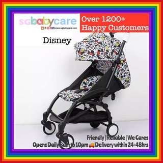 FREE DELIVERY Compact Lightweight Cabin Stroller - Disney