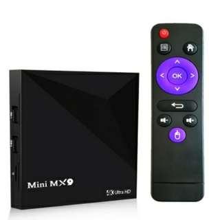 Android TV Box Mini Mx9