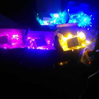 Lampu natal/ lampu tumblr/ lampu hias