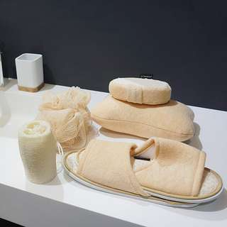 Bath Set with Slippers