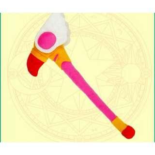 🚚 現貨 庫洛魔法使 小櫻 織世 庫洛牌 cosplay 玩偶 小可 庫洛杖 魔法杖