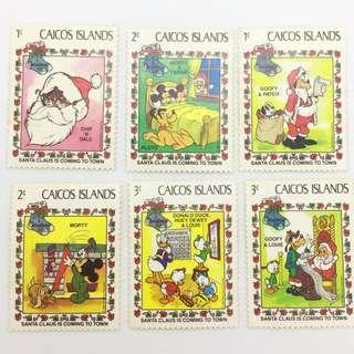 Disney's Stamps - Christmas