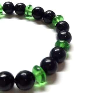 綠石 保健 黑磁手鏈