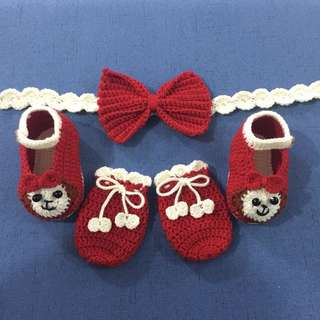 New born baby Set Crochet