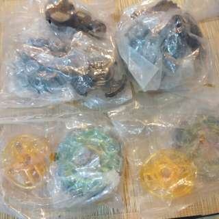 Rare Beyblades - Infinity Libra and Rock Aries
