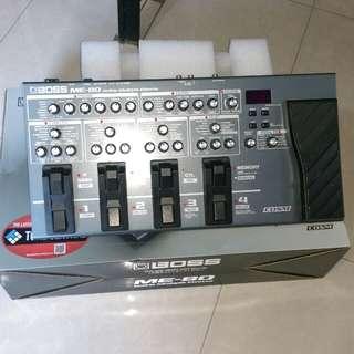 Boss ME 80 guitar pedal.
