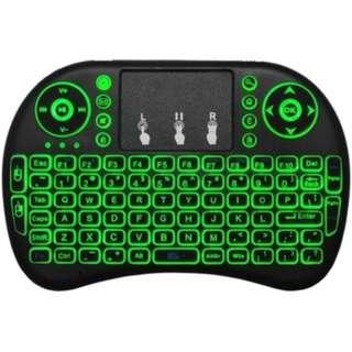 Mini Wireless Keyboard with Trackpad