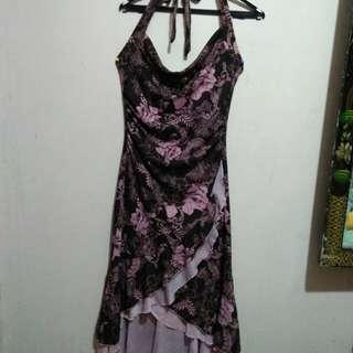 Evening sabrina dress
