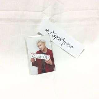 GOT7 Bambam Promise Photocard Official