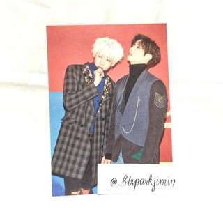 GOT7 Bambam and Mark Arrival Card Official