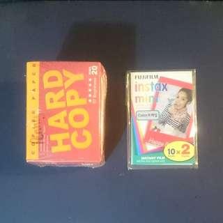 Notepads: Mini Hard Copy & Instax Mini Color