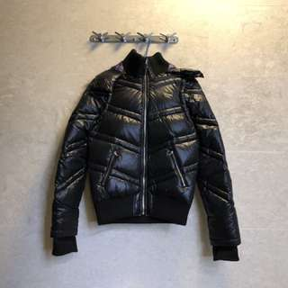 Agnes b Down Jacket size 2 可拆開帽及衫䄂