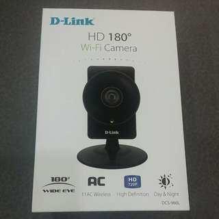 D-Link HD 180° Wi-Fi Home Camera