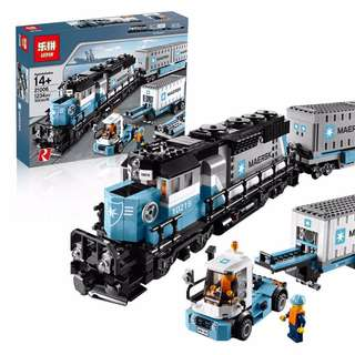 21006 Maersk Container Train last set left