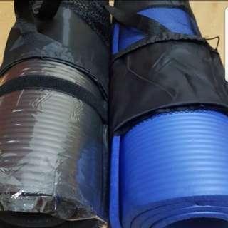 Blue183x61cm 10mm thick yoga mat defect