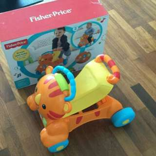 Fisher-price: stride-to-ride learning musical tiger (walker)